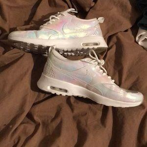 Iridescent Nike shoes